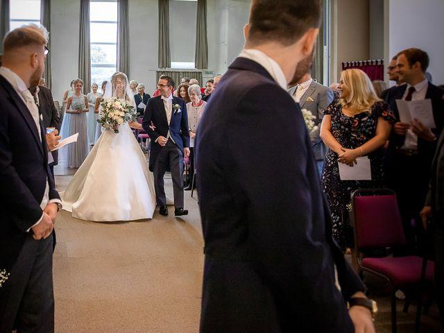 Matthew and Zoe's Wedding in Bromsgrove, Worcestershire 29