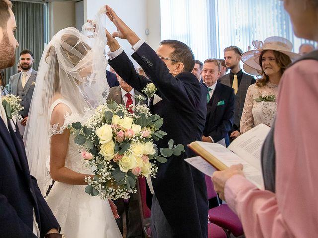 Matthew and Zoe's Wedding in Bromsgrove, Worcestershire 30