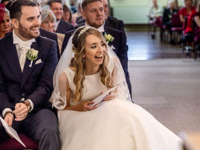 Matthew and Zoe's Wedding in Bromsgrove, Worcestershire 33