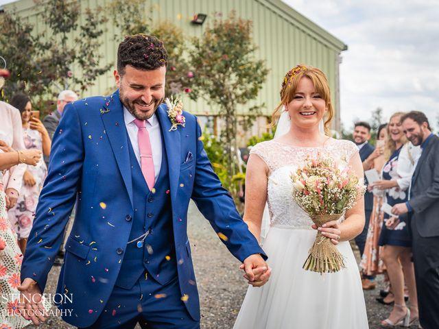 Sally & Matthew's wedding