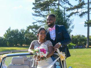 Dwain & Marsha's wedding