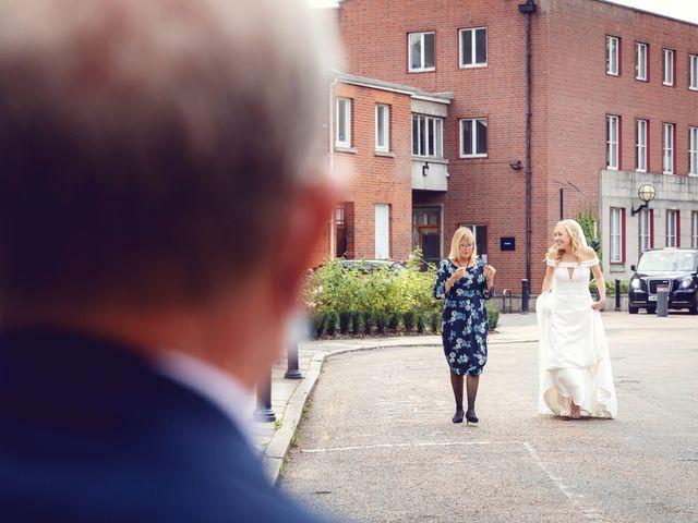 Rebecca and Jon's Wedding in Twickenham, Middlesex 28
