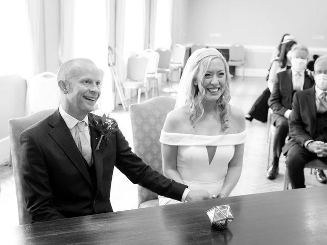 Rebecca and Jon's Wedding in Twickenham, Middlesex 33