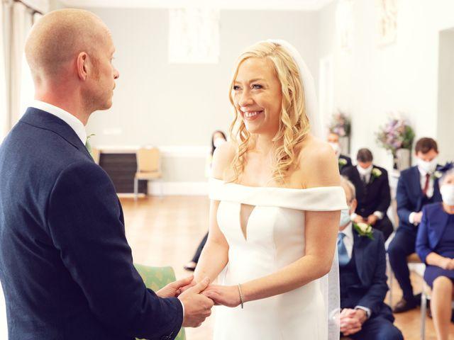 Rebecca and Jon's Wedding in Twickenham, Middlesex 36