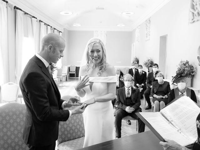 Rebecca and Jon's Wedding in Twickenham, Middlesex 38