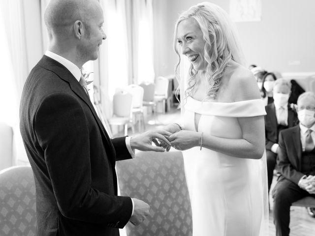 Rebecca and Jon's Wedding in Twickenham, Middlesex 40