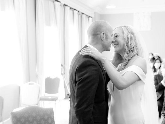 Rebecca and Jon's Wedding in Twickenham, Middlesex 42