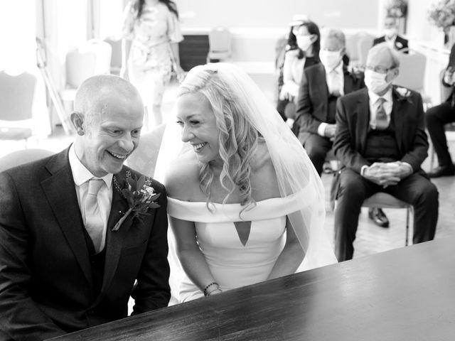 Rebecca and Jon's Wedding in Twickenham, Middlesex 46