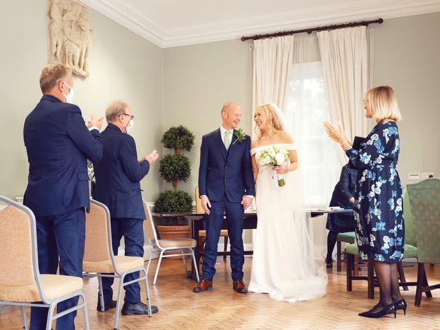 Rebecca and Jon's Wedding in Twickenham, Middlesex 50