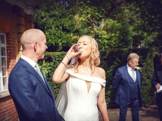 Rebecca and Jon's Wedding in Twickenham, Middlesex 52