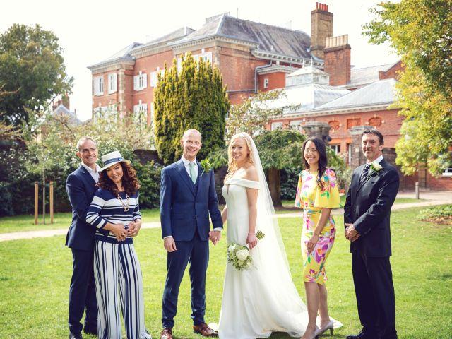 Rebecca and Jon's Wedding in Twickenham, Middlesex 56