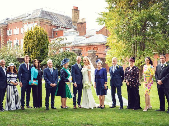 Rebecca and Jon's Wedding in Twickenham, Middlesex 57