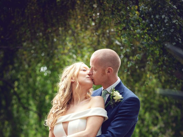 Rebecca and Jon's Wedding in Twickenham, Middlesex 75