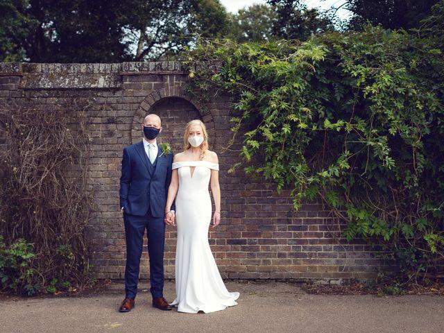 Rebecca and Jon's Wedding in Twickenham, Middlesex 80