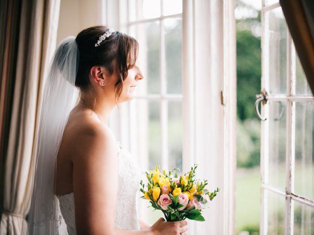 Dan and Debbie's Wedding in Tarporley, Cheshire 4
