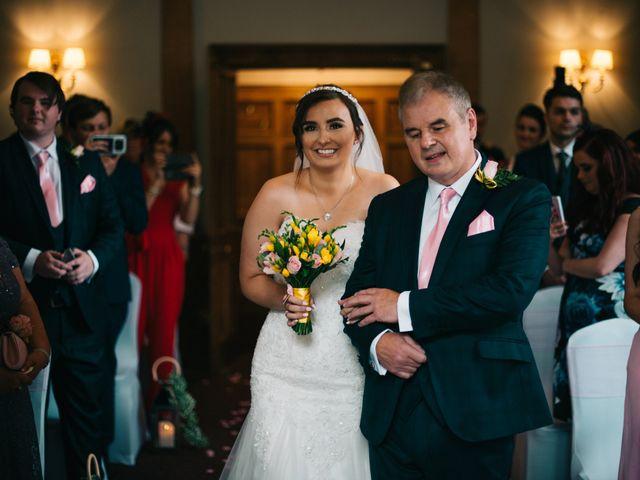 Dan and Debbie's Wedding in Tarporley, Cheshire 7