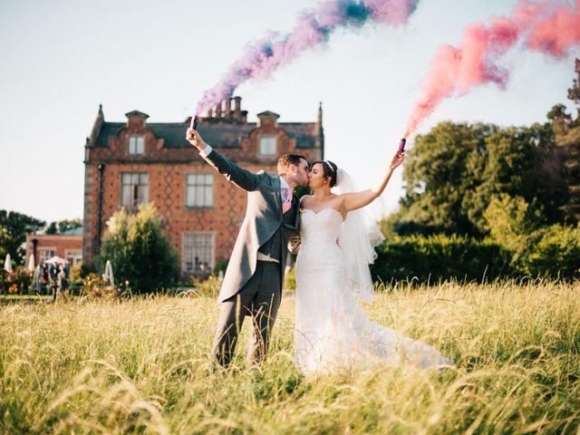 Dan and Debbie's Wedding in Tarporley, Cheshire 8