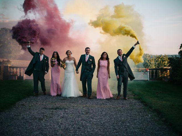 Dan and Debbie's Wedding in Tarporley, Cheshire 1