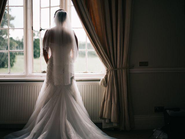 Dan and Debbie's Wedding in Tarporley, Cheshire 20