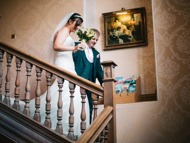Dan and Debbie's Wedding in Tarporley, Cheshire 22