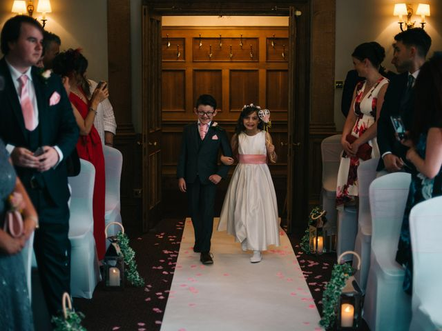 Dan and Debbie's Wedding in Tarporley, Cheshire 25