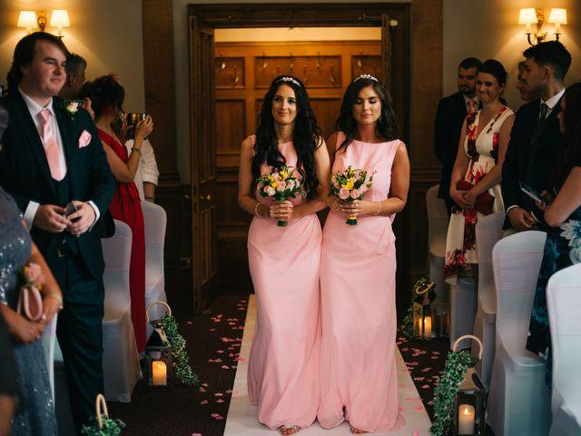 Dan and Debbie's Wedding in Tarporley, Cheshire 27