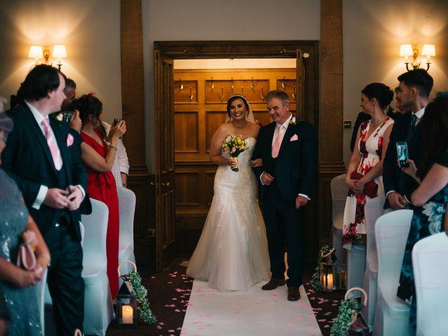 Dan and Debbie's Wedding in Tarporley, Cheshire 28