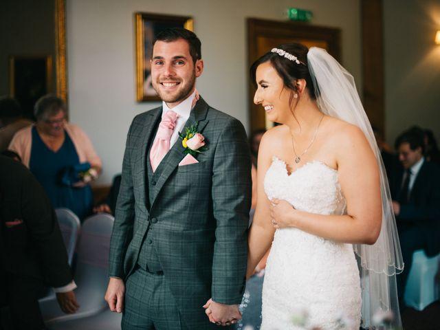 Dan and Debbie's Wedding in Tarporley, Cheshire 29