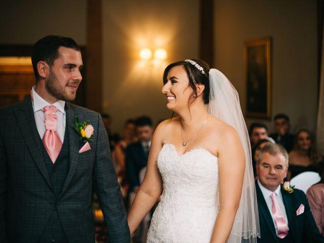 Dan and Debbie's Wedding in Tarporley, Cheshire 31