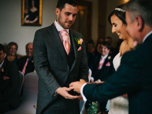 Dan and Debbie's Wedding in Tarporley, Cheshire 32