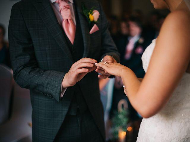 Dan and Debbie's Wedding in Tarporley, Cheshire 33