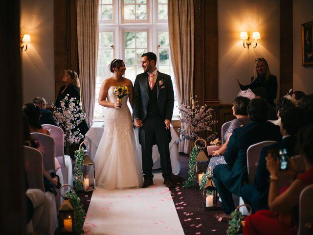 Dan and Debbie's Wedding in Tarporley, Cheshire 35