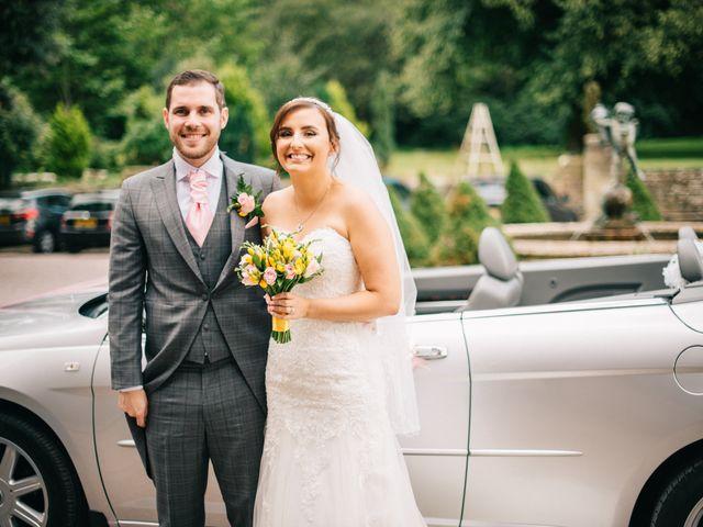 Dan and Debbie's Wedding in Tarporley, Cheshire 36
