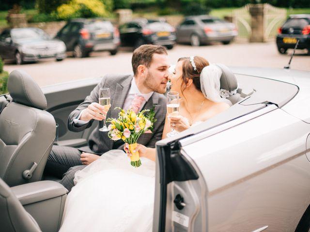Dan and Debbie's Wedding in Tarporley, Cheshire 37