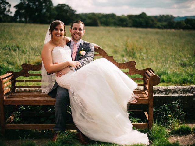 Dan and Debbie's Wedding in Tarporley, Cheshire 38