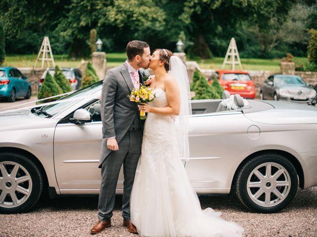 Dan and Debbie's Wedding in Tarporley, Cheshire 39