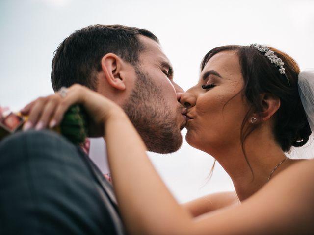 Dan and Debbie's Wedding in Tarporley, Cheshire 43