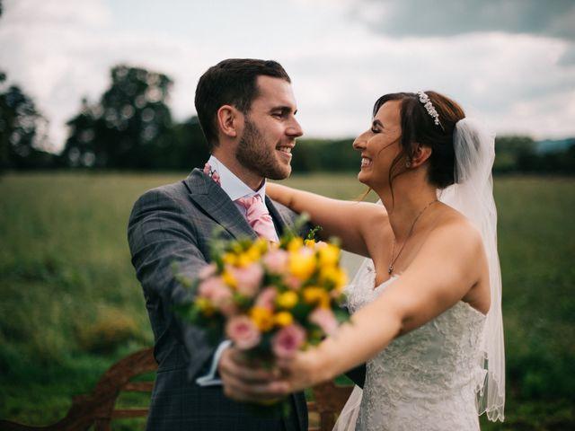 Dan and Debbie's Wedding in Tarporley, Cheshire 45