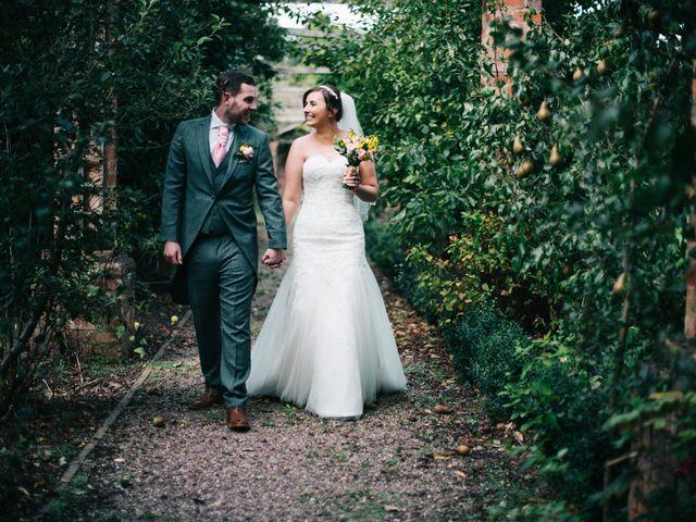 Dan and Debbie's Wedding in Tarporley, Cheshire 52