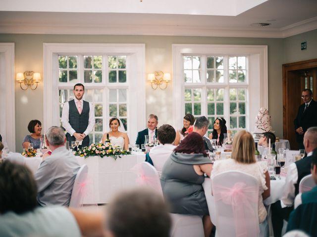 Dan and Debbie's Wedding in Tarporley, Cheshire 55