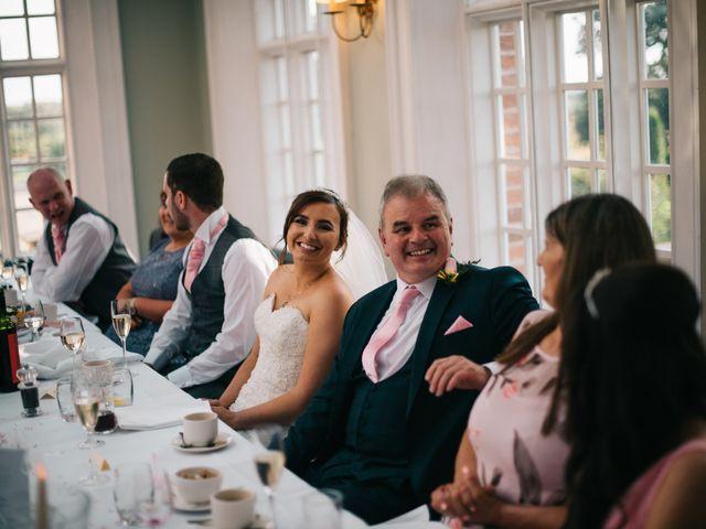 Dan and Debbie's Wedding in Tarporley, Cheshire 56