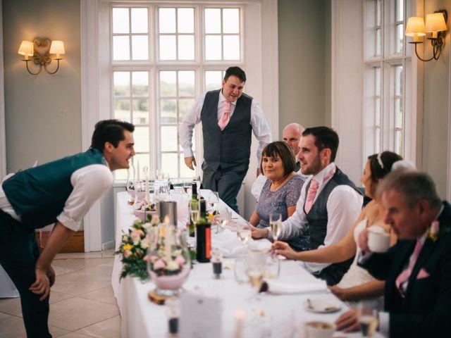 Dan and Debbie's Wedding in Tarporley, Cheshire 58