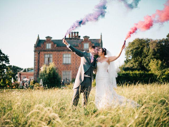 Dan and Debbie's Wedding in Tarporley, Cheshire 59