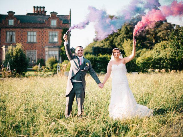 Dan and Debbie's Wedding in Tarporley, Cheshire 60