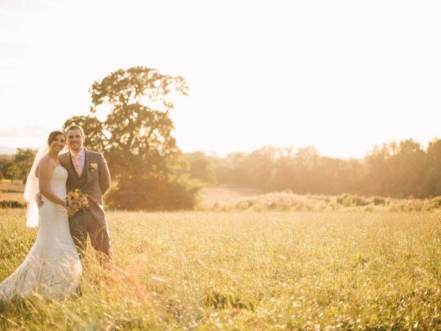 Dan and Debbie's Wedding in Tarporley, Cheshire 61