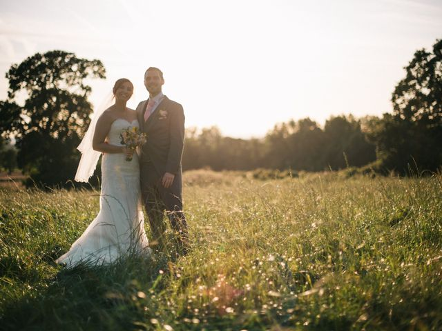 Dan and Debbie's Wedding in Tarporley, Cheshire 62