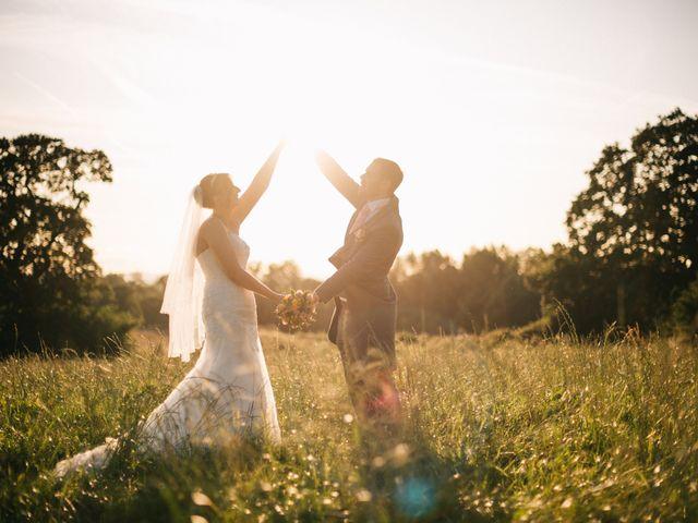 Dan and Debbie's Wedding in Tarporley, Cheshire 2