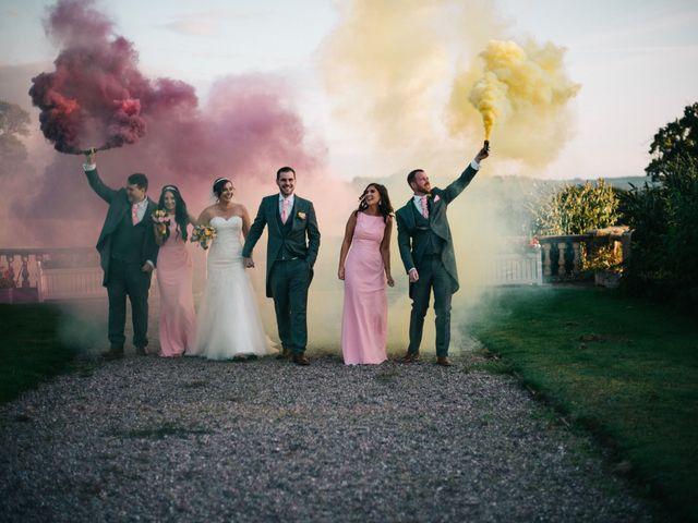 Dan and Debbie's Wedding in Tarporley, Cheshire 65
