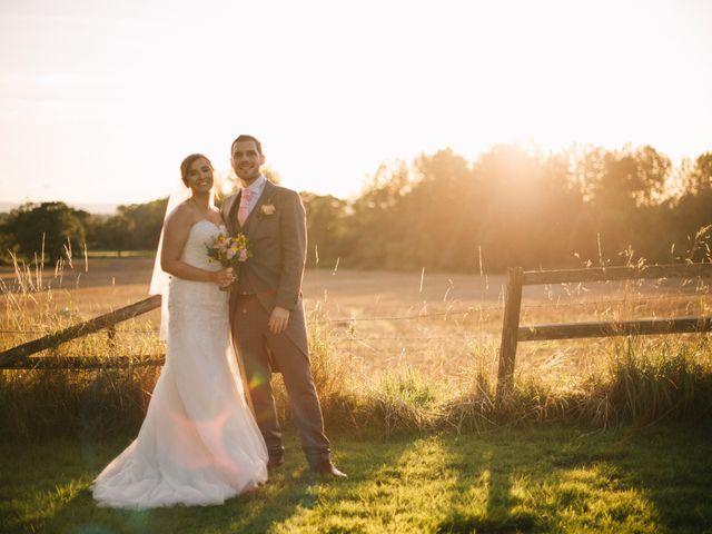 Dan and Debbie's Wedding in Tarporley, Cheshire 66