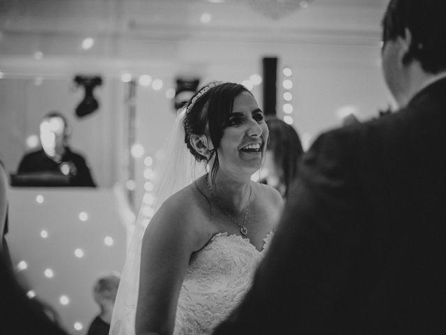 Dan and Debbie's Wedding in Tarporley, Cheshire 73